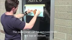 Sign Vinyl Application - Step by Step