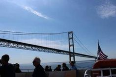 The Star Line ferry under Mackinac Bridge, and 7 other ways to make Mackinac Island memories