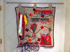 La trapera de Amelia patchwork: baño