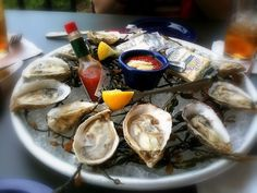 BLUE POINT OYSTERS - Ford's Fish Shack - Ashburn, VA