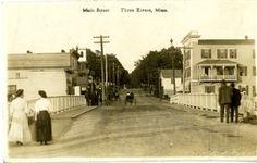 Main Street, Three Rivers, Massachusetts