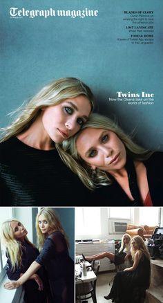 Mary Kate & Ashley Olsen - Telegraph August 2011