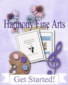 Harmony Fine Arts plans organize great art and music appreciation resources into the classical four-year cycle of history and seasons each week with a Charlotte Mason flavor.