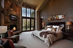 Rustic Bedroom Design Ideas-22-1 Kindesign