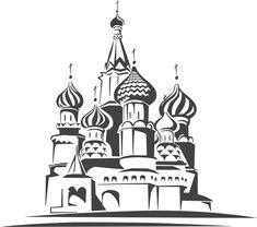 Картинки по запросу Красная Площадь вектор