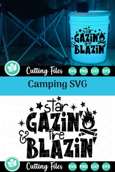 Compatible with vinyl cutting machines such as Cricut and Silhouette Cameo. Great for DIY craft projects such as shirts, mugs, tumblers, and more - Ad Camping Crafts, Camping Ideas, Cricut Svg Files Free, Bucket Light, Arrow Svg, Camp Fire, Vinyl Cutting, Cricut Creations, Tumbler Cups