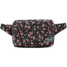 Vans Burma Fanny Pack (79 BRL) ❤ liked on Polyvore featuring bags, pink, pink bum bag, pink bag, waist bag, waist pack bag and vans bags