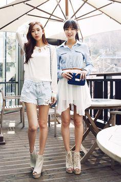 Korean fashion GG's tiny times 내 키도 그랬으면.....