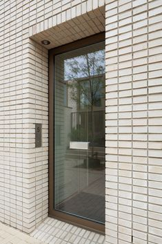 Gallery of Spijkerkwartie Terraced Houses / Atelier Kempe Thill - 16 Brick Cladding, Brick Facade, Facade House, Brick Architecture, Contemporary Architecture, Interior Architecture, Soho, Brick Works, Glazed Brick