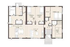 充実の設備で暮らしを快適に | 茨城セキスイハイム | 茨城県の住宅メーカー(ハウスメーカー) Ibaraki, House Plans, Floor Plans, How To Plan, Architecture, Asylum, Blueprints For Homes, Home Plans, House Design