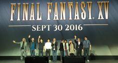 Final Fantasy XV kommt zu PS4 und Xbox One 30. September