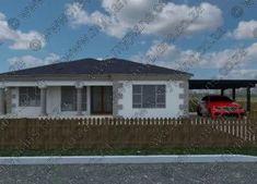 5 Bedroom House Plan MLB-1815D – My Building Plans South Africa Village House Design, Village Houses, My Building, Building Plans, Architect Fees, 6 Bedroom House Plans, Floor Layout, Home Design Plans, Open Plan Living