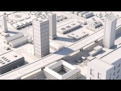 (21) CINEMA 4D SPEED ART  |  White City - YouTube