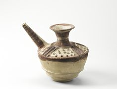 Iran, Suse au IIIe millénaire avant J.-C., Jarre à bec-verseur, de forme théière, Terre cuite peinte | Musée du Louvre