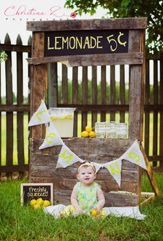 Ideas for a Lemonade Stand Photo Shoot {Made by a Princess Parties in Style}