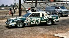 Harry Gant - 1983 @ Riverside