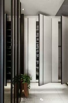 Comfortable and Suitable Wardrobe Design for Big & Small Bedroom Home Interior, Modern Interior, Interior Architecture, Interior Design, Built In Furniture, Furniture Design, Shoe Cabinet Design, Wardrobe Cabinets, Wardrobe Closet