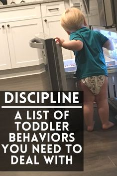 A list of Toddler Behaviors that need your attention. Don't ignore behaviors and instead start correcting them with discipline that fits your parenting style! How to make a plan that works for your family! #toddler #toddlerdiscipline #discipline #baby #tantrums #terribletwos #momlife #mom #momhacks Toddler Behavior, Toddler Discipline, Toddler Age, Parenting Toddlers, Parenting Styles, Parenting Ideas, Baby Tantrums, Terrible Twos, Step Kids