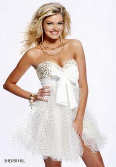 short gold prom dresses