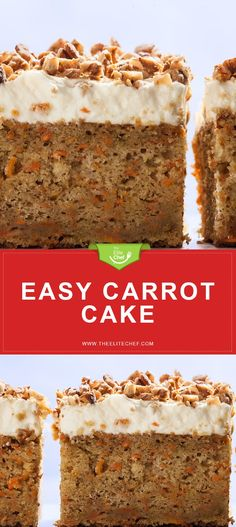 Easy Carrot Cake wit