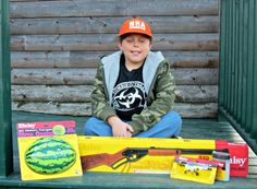 Cool Christmas gift for boys - a Daisy Red Ryder BB Gun - The Wilderness Wife - Cooking, crafting & gardening in the North Maine Woods