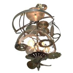 """""""Mad Max"""" Industrial chandelier - LOVE"""