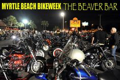 The Beaver Bar - Murrells Inlet, SC  All you can eat flounder dinner on Wednesday nights!