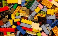 """LEGO bricks illustrate the simple idea behind infographics.     Data: sorted, arranged, presented visually. Got it? Good. Now let's raid the toy box and play with the """"data.""""        Image courtesy of"""
