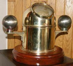 ships compas binnacle Old Lanterns, Vintage Compass, Globes, Maps, Nautical, Beer, Bronze, Antiques, Tableware