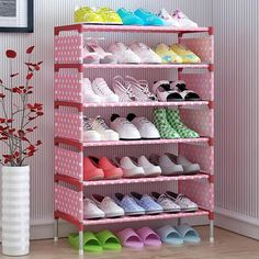 Shoe Racks And Organizers Inspiration Shoe Cabinet Shoes Storage Organizer  Home & Garden Furniture Decorating Inspiration