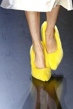 fourrure CELINE - buzzing shoes