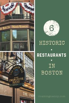 The Oldest Restaurants in Boston: Deliciously Historic Food and Drinks