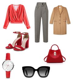 """Untitled #12"" by maria-daria-i on Polyvore featuring Petar Petrov, FOSSIL and Gucci"