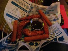 fried chicken &mozzarella sticks doddy's coffee - les restos de boulogne