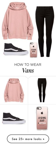 """""""Untitled #970"""" by zeniboo on Polyvore featuring Vans, Dorothy Perkins and Casetify"""