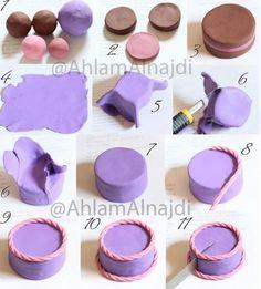 粘土制作过程图解