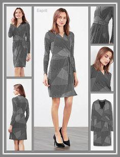 N̲̲̅̅ ̲̲̅̅I̲̲̅̅ ̲̲̅̅E̲̲̅̅ ̲̲̅̅U̲̲̅̅ ̲̲̅̅W̲̲̅̅ ̲̲̅̅E̲̲̅̅ ̲̲̅̅ ̲̲̅̅C̲̲̅̅ ̲̲̅̅O̲̲̅̅ ̲̲̅̅L̲̲̅̅ ̲̲̅̅L̲̲̅̅ ̲̲̅̅E̲̲̅̅ ̲̲̅̅C̲̲̅̅ ̲̲̅̅T̲̲̅̅ ̲̲̅̅I̲̲̅̅ ̲̲̅̅E̲̲̅̅ ̲̲̅̅] Esprit  Jurk van kreukarme polyester-jersey met superveel stretch en wikkeleffect aan de voorkant.. Details: Deze jurk is de hele dag door perfect! De comfortabele jurk heeft een aansluitend, getailleerd model met lijfje in gedrapeerde wikkellook en een rok met wikkelrand aan de voorkant. Het voor- en achterpand is gevoerd met jersey…