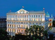 Hotel Imperial, Vienna, Austria. Been and I definitely want to go back! this hotel was truly amazing!!
