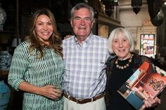Ken and Maureen Johnson at The Well- Traveled Home by Sandra Espinet book signing at Berbere World Imports, May 2014.   #thewelltraveledhome #sandraespinet #berbereworldimports #interiordesign