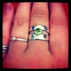 #TjulyDesign              #ring                     #Double #Peridot #Ring #Luulla                      Double Peridot Ring on Luulla                                                 http://www.seapai.com/product.aspx?PID=217727