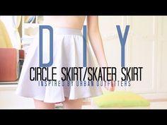 DIY SKATER/CIRCLE SKIRT! ☆ [Inspired by American Apparel] | highitsalicia
