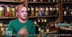 Tom Felton after the 7th movie.