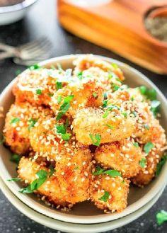 Low FODMAP Recipe and Gluten Free Recipe - Baked maple sesame chicken  (Update) -  http://www.ibs-health.com/low_fodmap_baked_maple_sesame_chicken.html