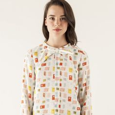 Book Print Secretary Blouse | 33 Impossibly Cute Ways To Cover Your Body In Books