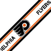 Amazon.com: Philadelphia Flyers 5.5 Inch (Height) Wallpaper Border: Sports & Outdoors