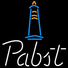 Pabst Light House Neon Beer Sign 24x24, Pabst  Neon Beer Signs & Lights | Neon Beer Signs & Lights. Makes a great gift. High impact, eye catching, real glass tube neon sign. In stock. Ships in 5 days or less. Brand New Indoor Neon Sign. Neon Tube thickness is 9MM. All Neon Signs have 1 year warranty and 0% breakage guarantee.
