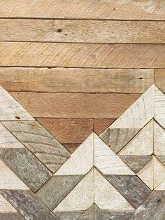 Reclaimed Wood Wall Art Wall Decor Twin by EleventyOneStudio
