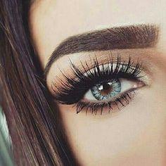 Eye make up shared by Sunni on We Heart It Pretty Makeup, Love Makeup, Makeup Inspo, Beauty Makeup, Makeup Style, Kiss Makeup, Hair Makeup, Makeup Eyes, Regard Intense