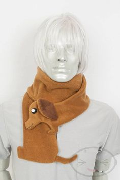 dachsund scarf