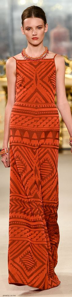 Love, love, love this dress!!! qb Les Copains Spring 2015 | The House of Beccaria~